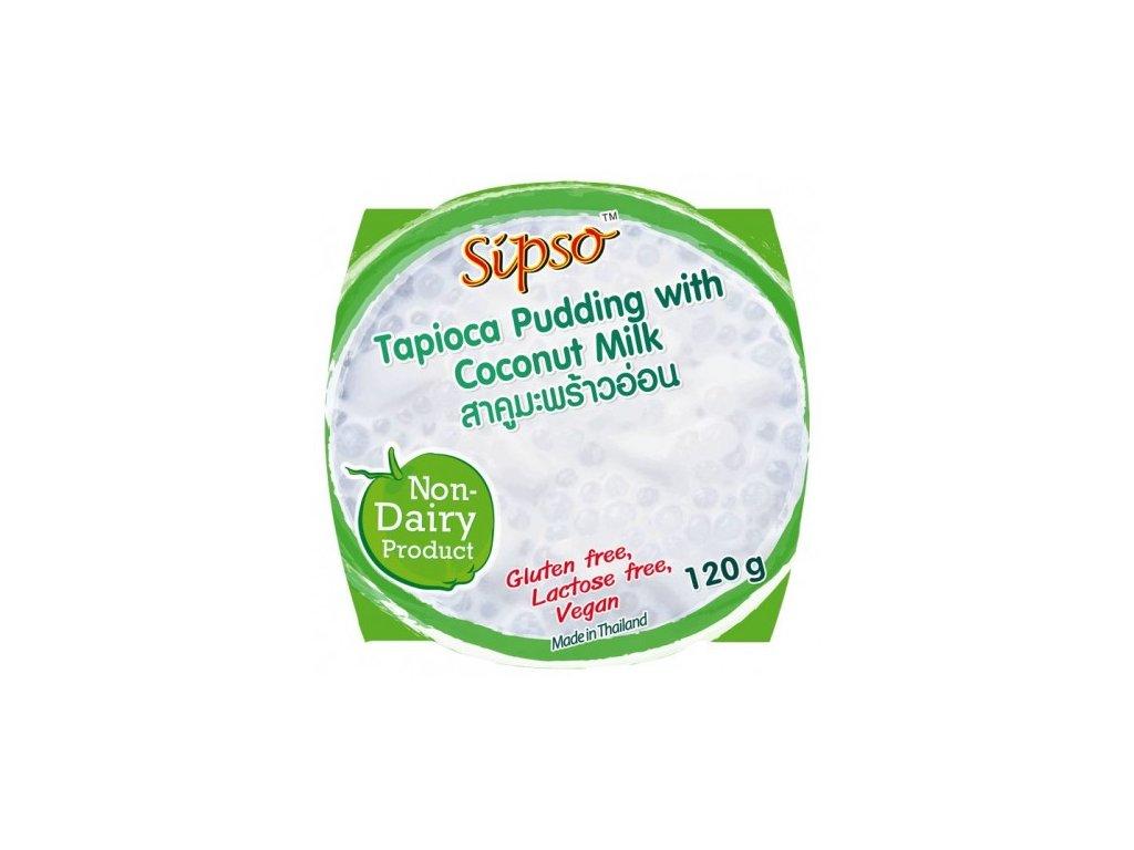 tapiokovy puding s kokosovym mlekem 120g sipso