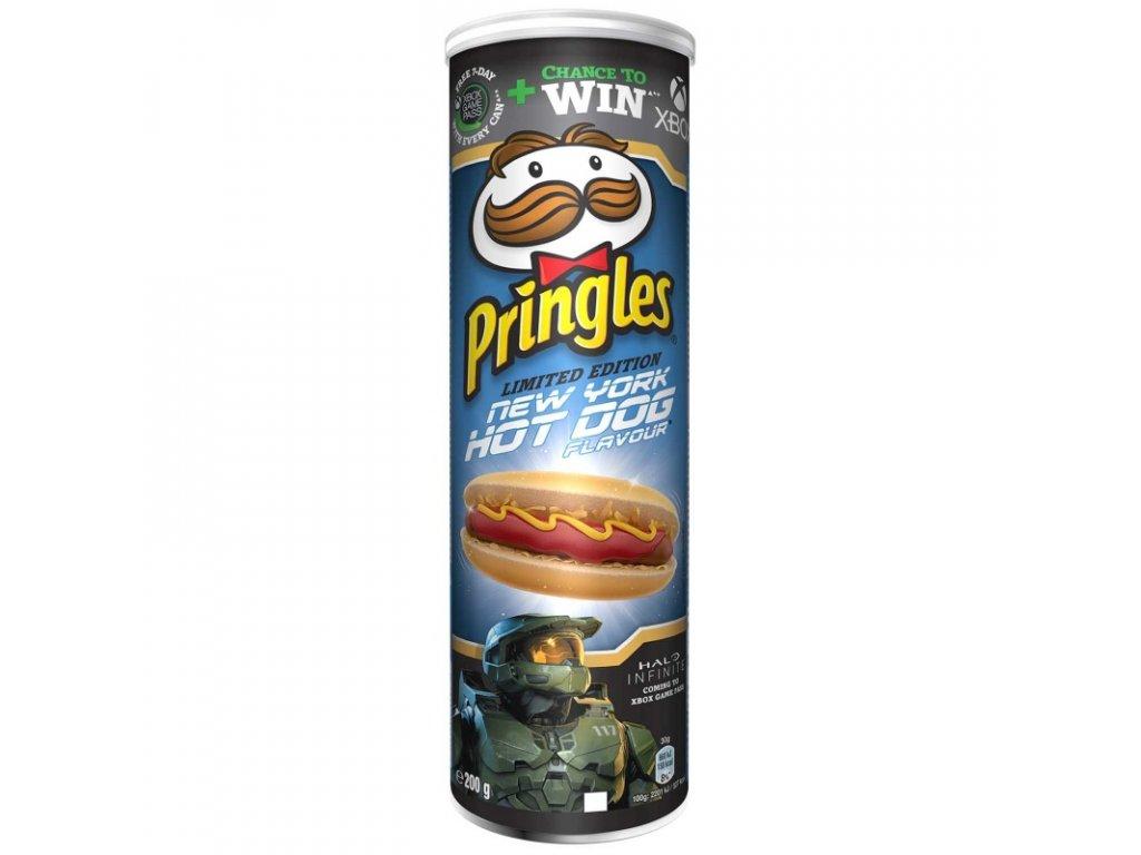 pringles hotdog