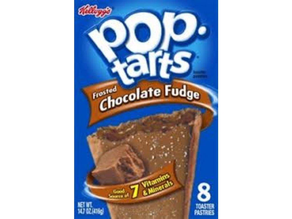 kelloggs pop tarts frosted chocolate fudge 8pk