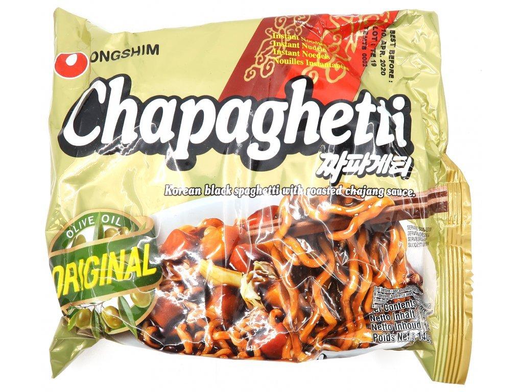 3629 chapaghetti korejske spageti s cernou fazoli 140g kor