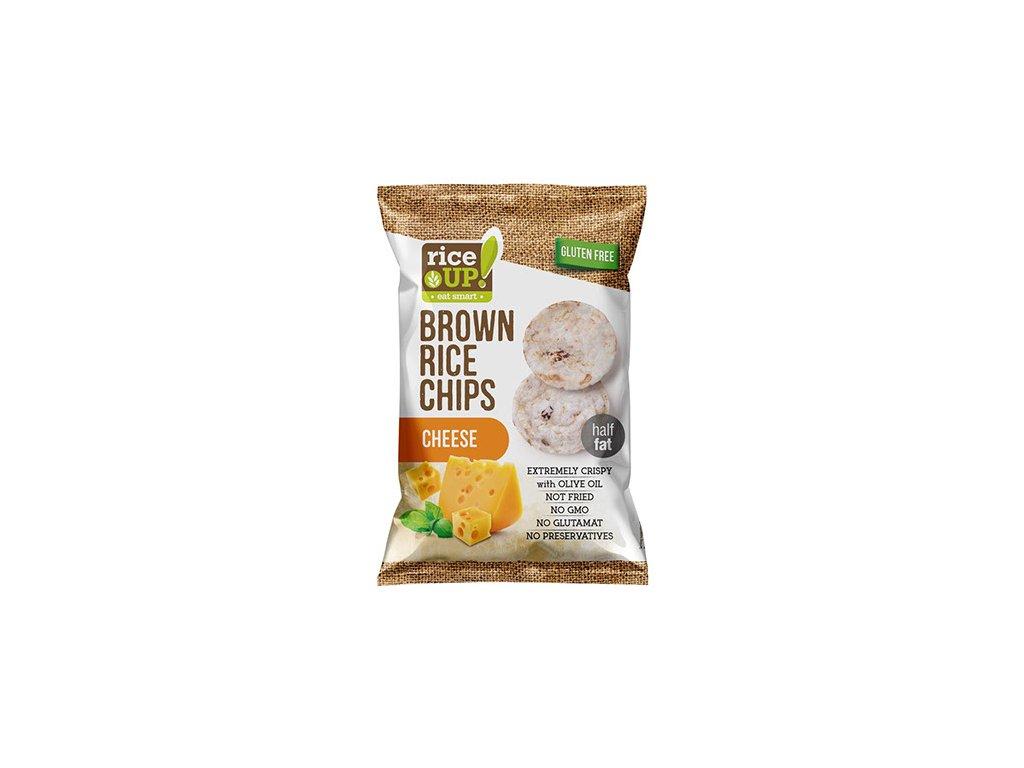 Rice Up! rýžové chipsy Sýr 60g