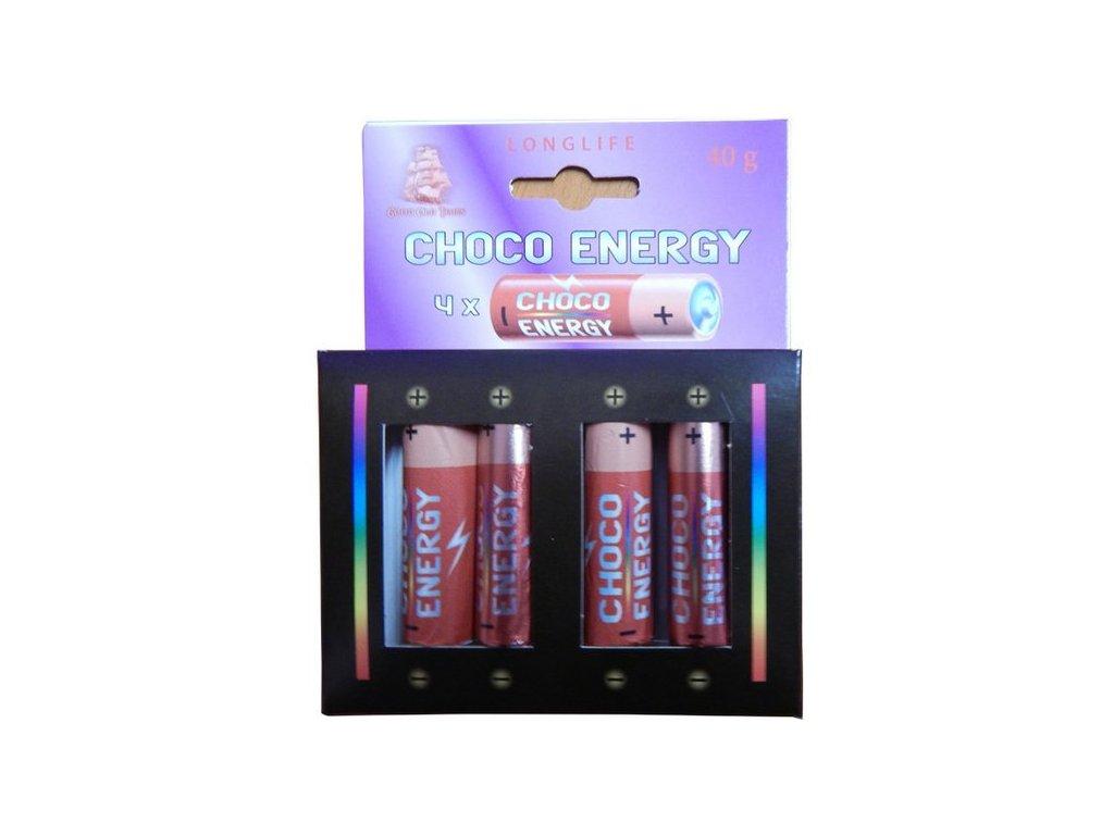 Choco Energy Čokoládové baterky 40g