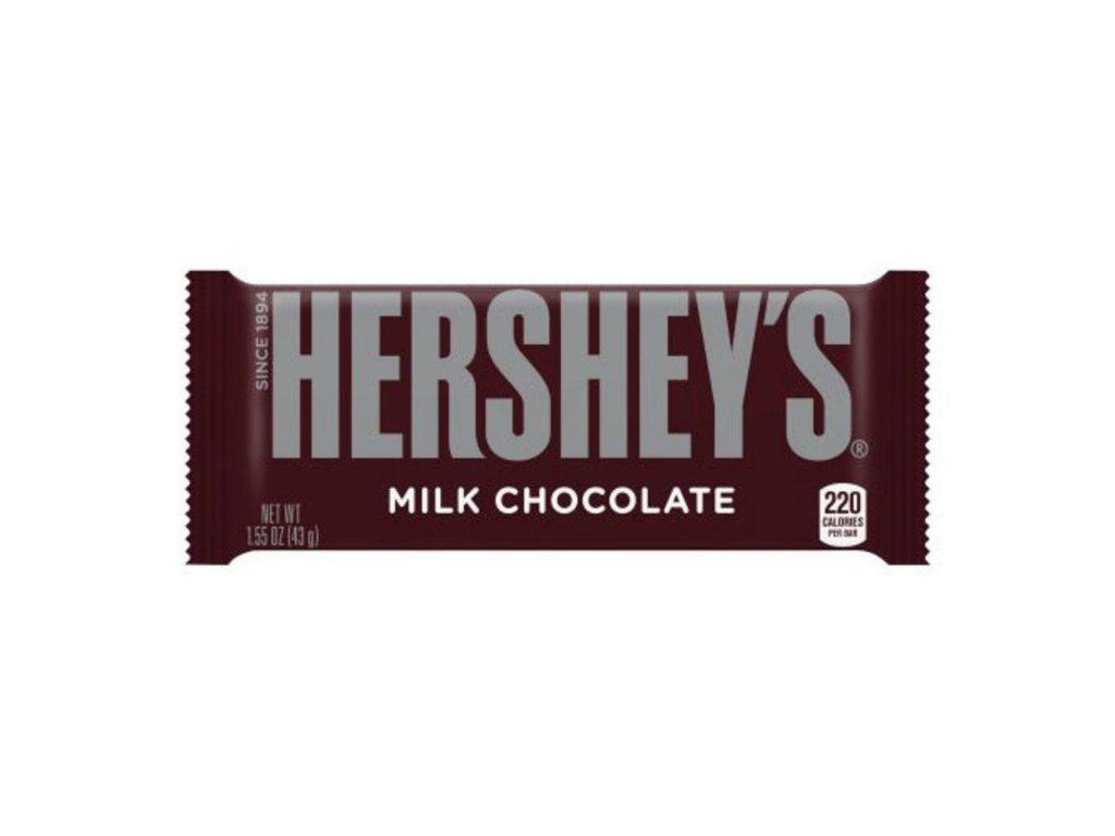 hersheys milk chocolate bar 44g