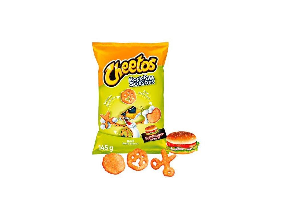 12623 cheetos rock paw scissors hamburger flavor 145g pol