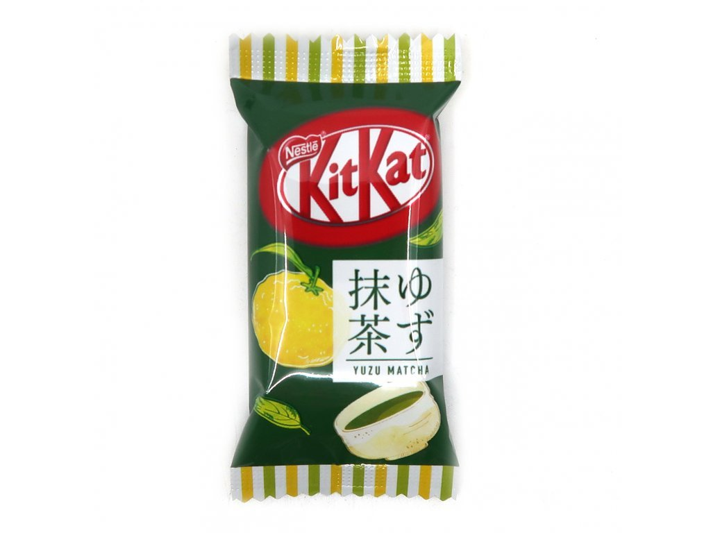 7163 kitkat yuzu matcha tea 1ks 13 5g jap