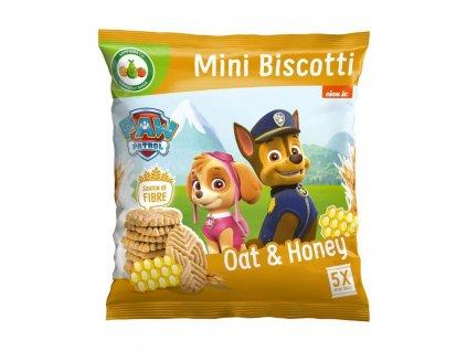 Medové sušenky Tlapková Patrola 5x20g