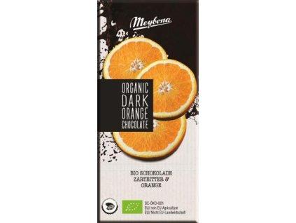 Horka cokolada s pomerancem