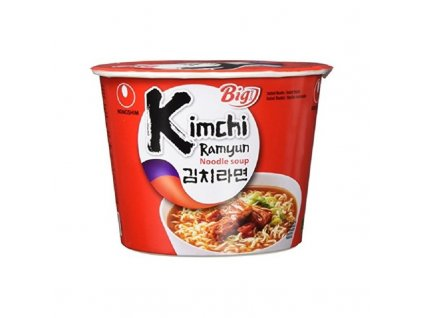 instantni nudlova polevka kimchi ramyun nongshim 112g