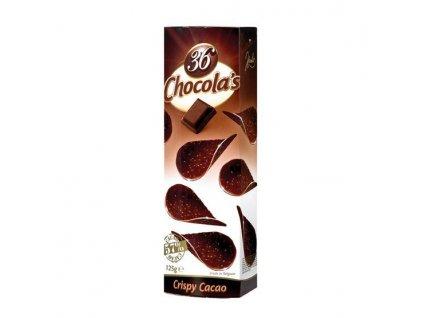 Čokoládové chipsy z hořké čokolády 125g
